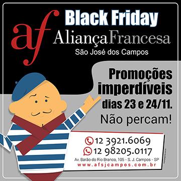 Black Friday Aliança Francesa São José dos Campos
