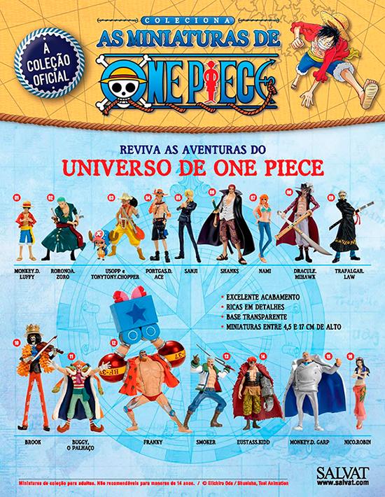 Miniaturas de One Piece
